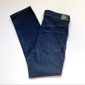 NWT Express Super High Rise Slim Ankle Jeans